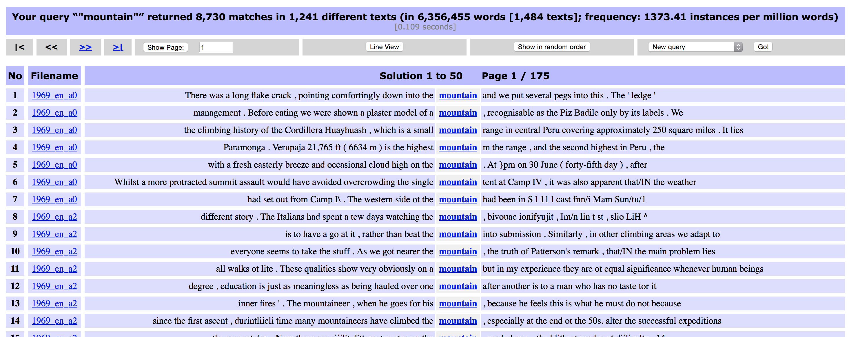 The Tbilisi Tutorial on CQPweb and XML