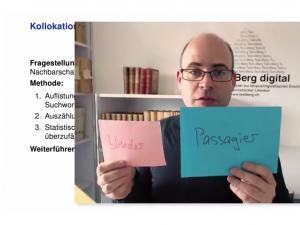 MOOC Sprachtechnologie in den Digital Humanities: Modul Korpuslinguistik